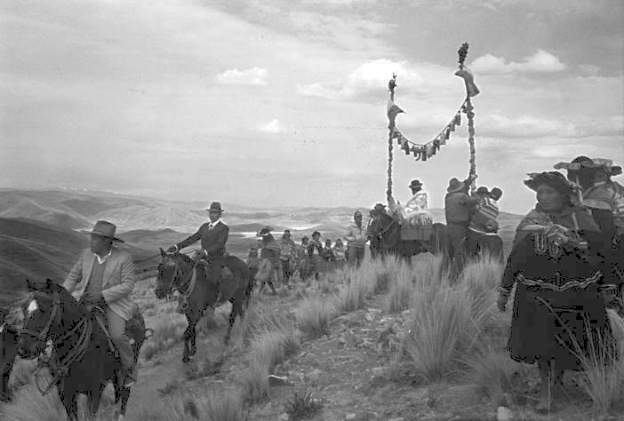 [  Marriage in the Andes  ]